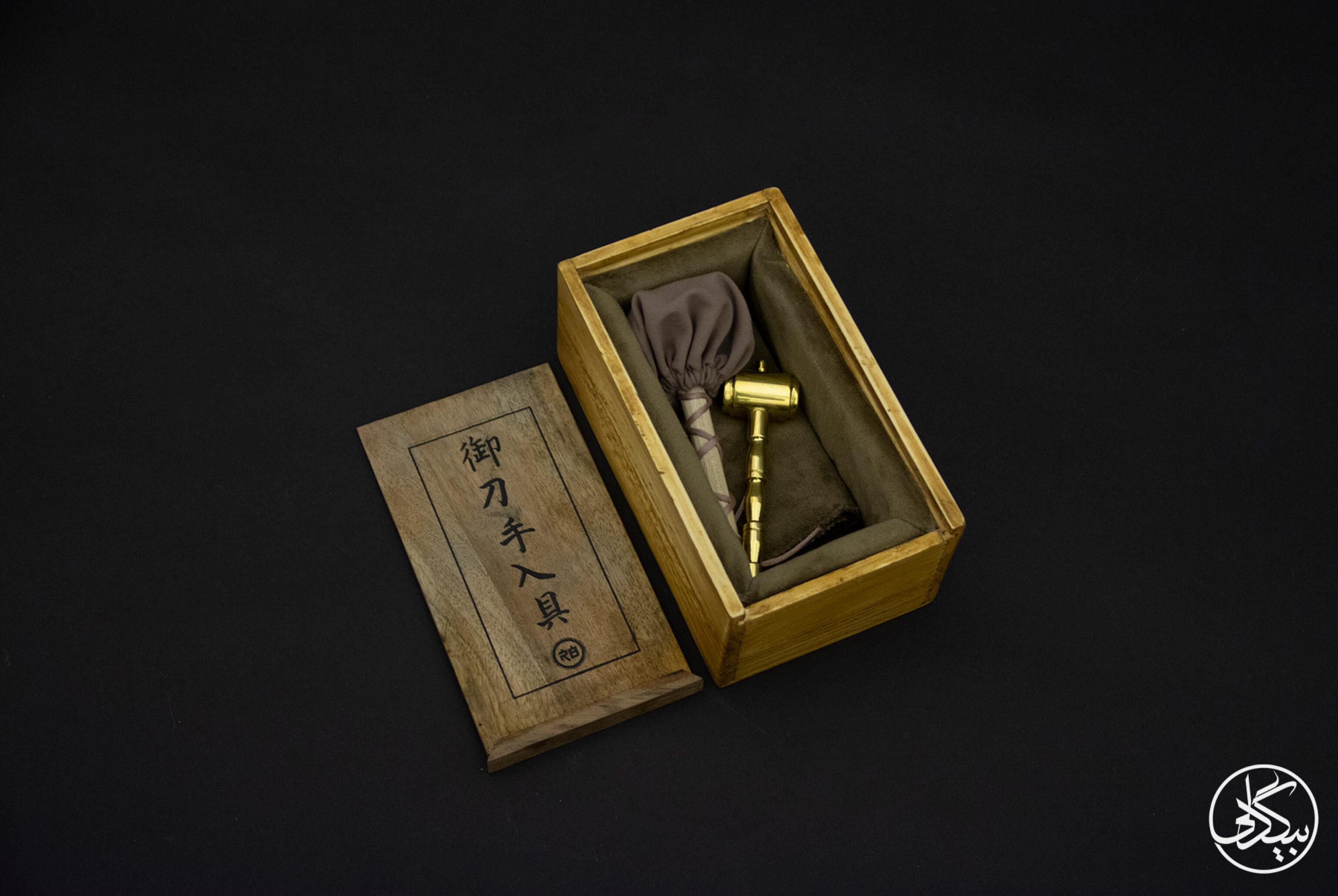 جعبهی تنظیف تیغهی ژاپنی